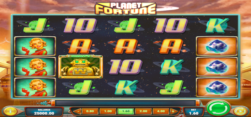 Planet Fortune Main Game