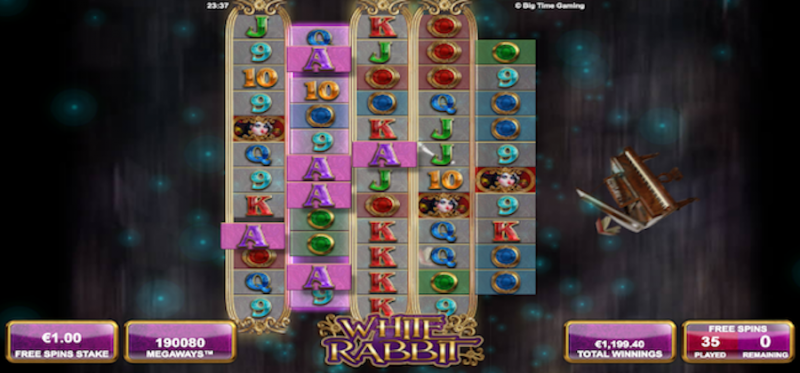 White Rabbit Free Spins