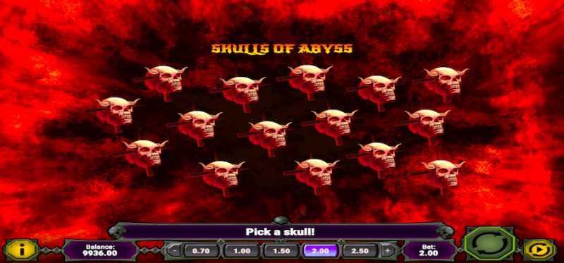 Skulls of Abyss Bonus Game