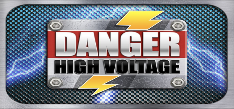 Danger! High Voltage Logo