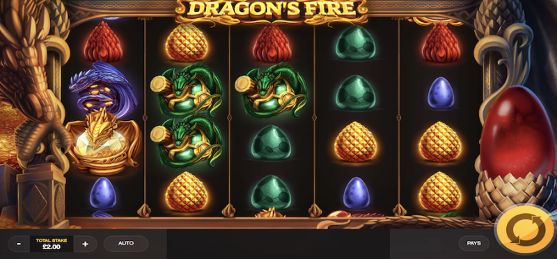 Dragon's Fire Main Game