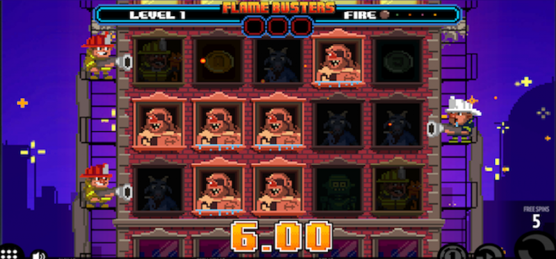 Flame Busters Free Spins