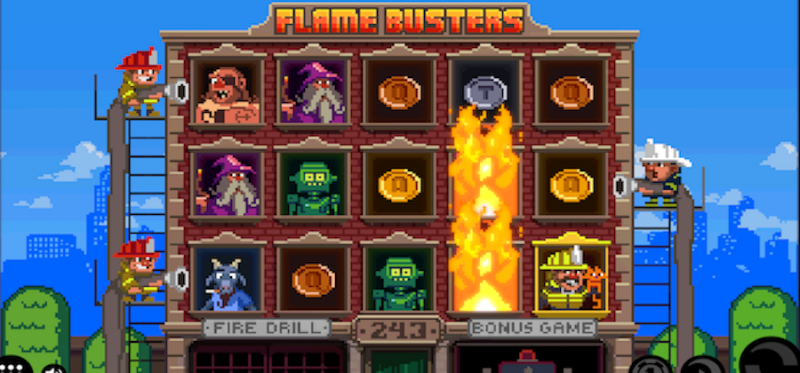 Flame Busters Main Game