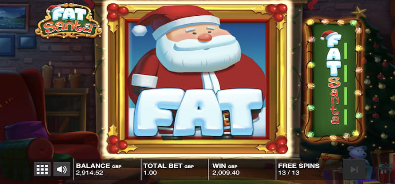 Fat Santa; The Maximum Size Santa Symbol
