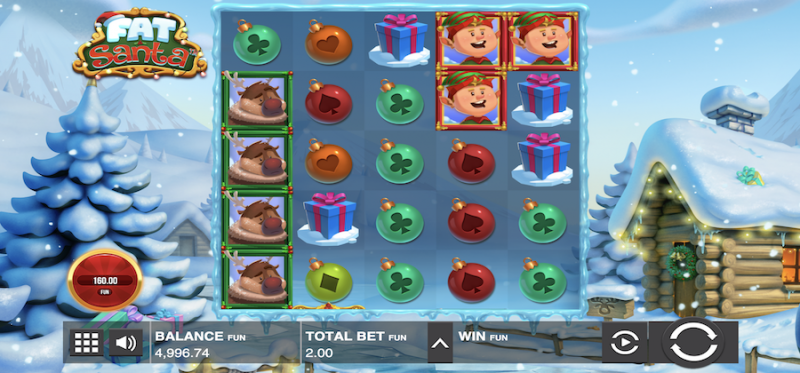 Fat Santa Main Game