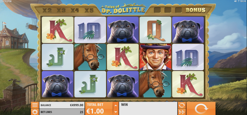 Tales of Dr. Dolittle Main Game