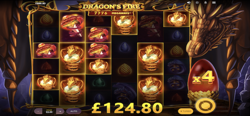 Dragon's Fire Megaways Multiplier