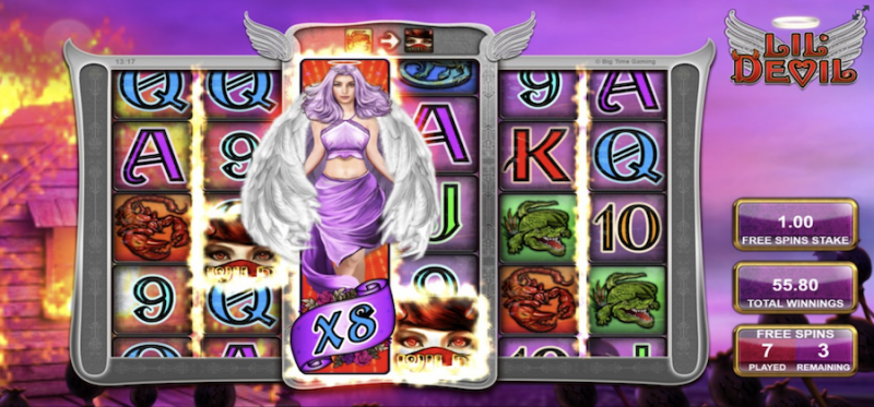 Be My Angel Free Spins