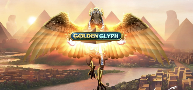 Golden Glyph Logo