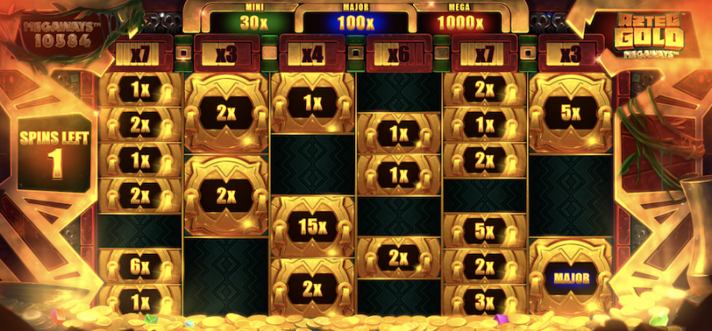 Aztec Gold Cash Re-spins