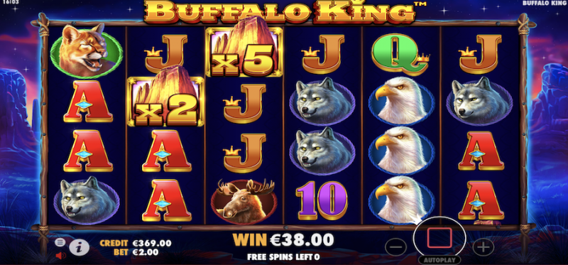 Buffalo King Free Spins
