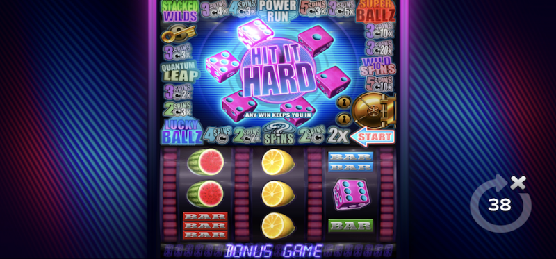 Hit It Hard Bonus Game