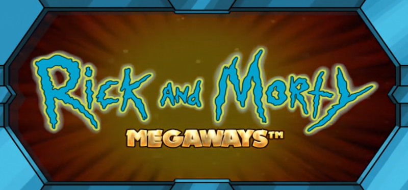 Rick and Morty Megaways Logo