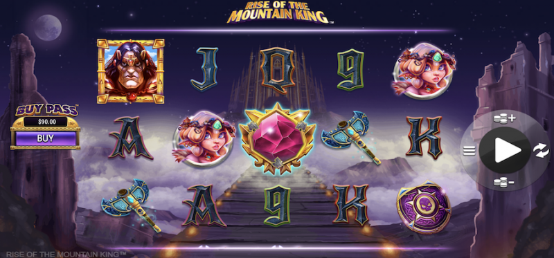 Rise of the Mountain King Main Game