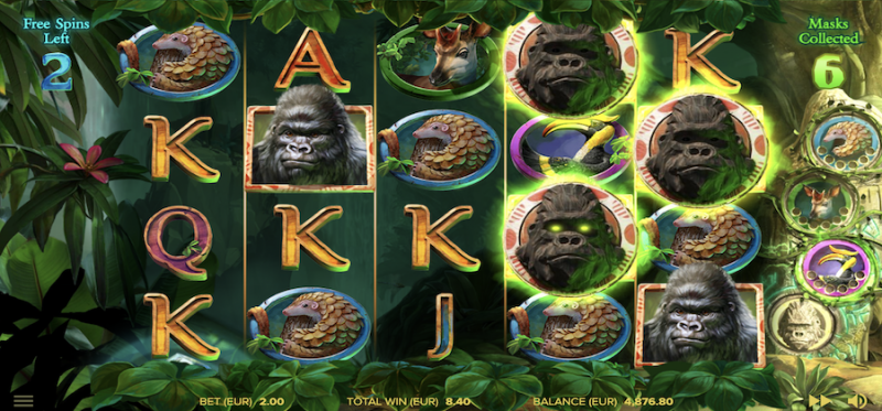 Gorilla Kingdom Free Spins