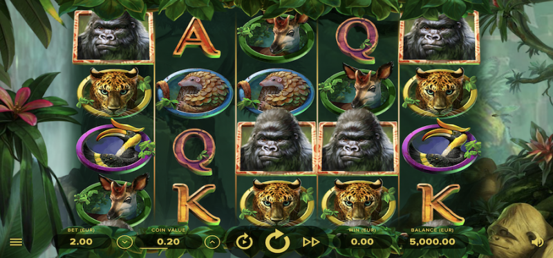 Gorilla Kingdom Main Game