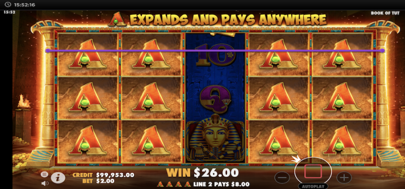 Free Spins with Special Expanding Symbol