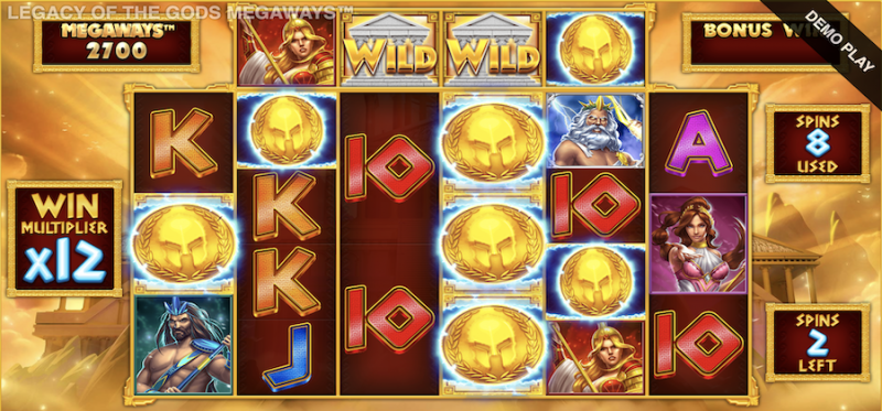 Legacy of the Gods Megaways Free Spins