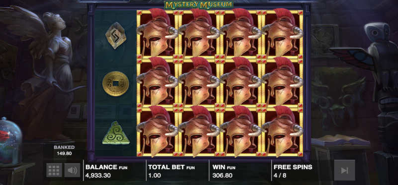 Mystery Museum Free Spins