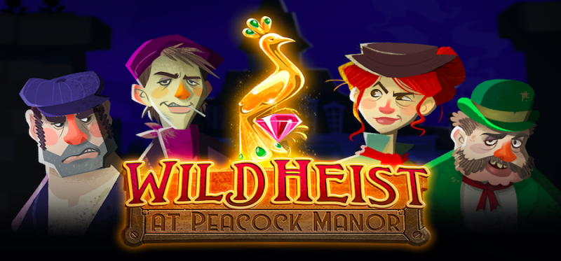 Wild Heist at Peacock Manor Logo