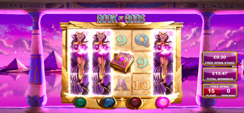 Book of Gods Free Spins