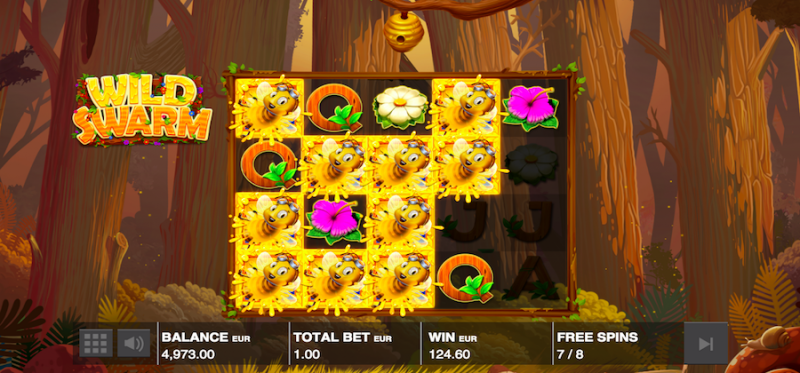 Free Spins - Swarm Mode Feature