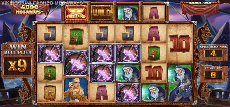Vikings Unleashed Megaways Free Spins