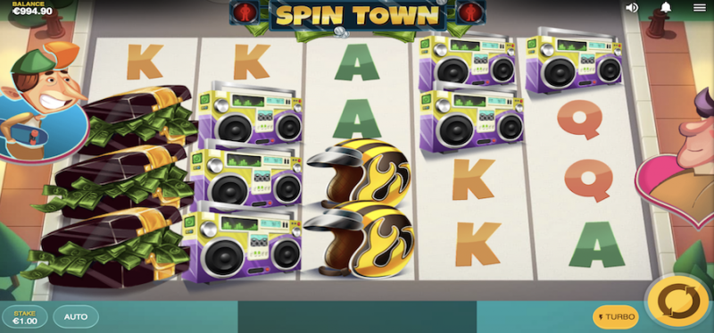 Spin Town Main Game