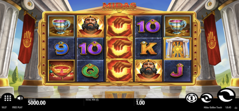 Midas Golden Touch Main Game