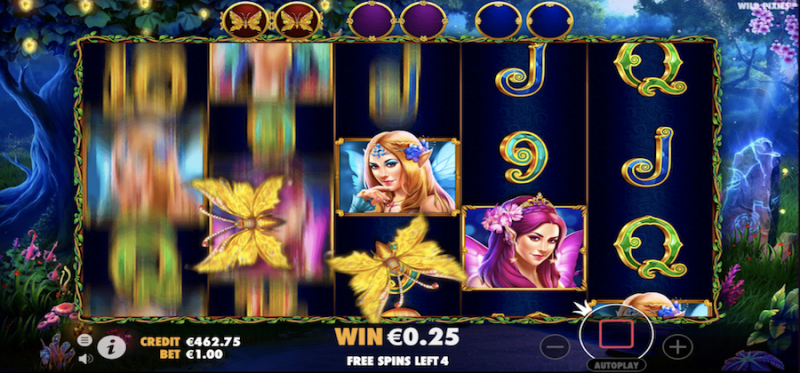 Wild Pixies: Roaming Wilds Free Spins