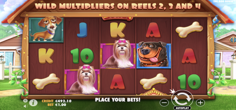 The Dog House Main Game